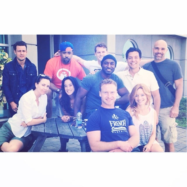 Our Cast: (Top, left to right) Tyler Hynes, Benz Antoine, Jared Keeso, Conrad Pla. (Middle, left to right) Maxim Roy, Mylène Dinh-Robic, Adrian Holmes, Bruce Ramsay. (Bottom, left to right) Daniel Petronijevic, Laurence Leboeuf